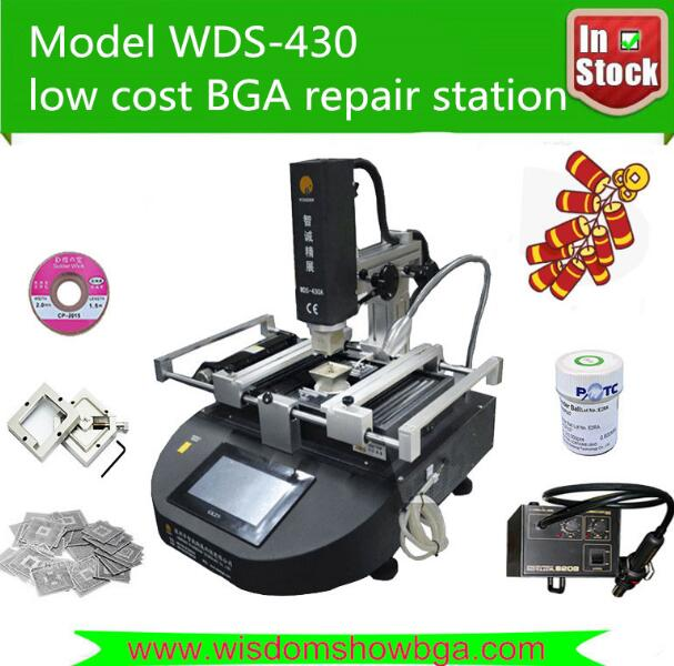 BGA Rework Station Best economy 3 temperature zone touch screen infrared Available For Repair font b