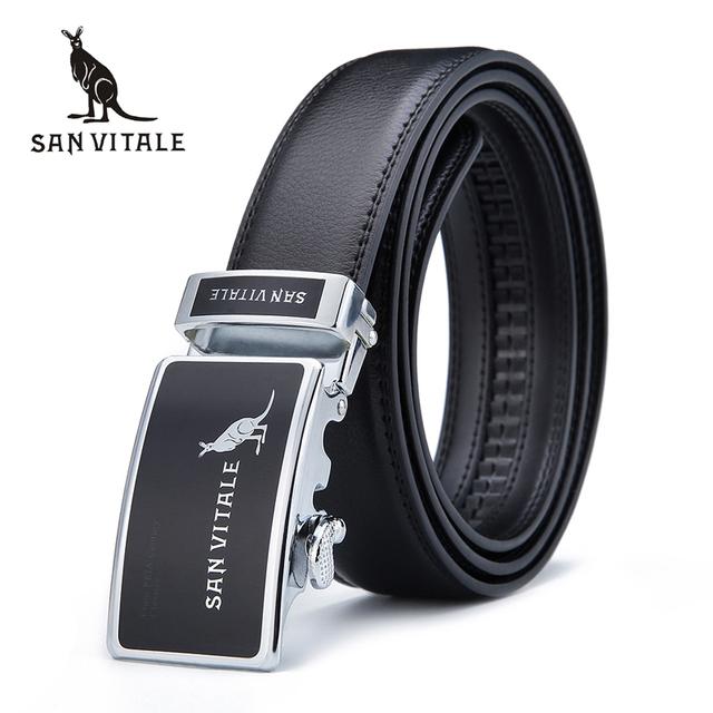 2017 moda de nueva Marca hombres pretina cinturones para hombre correas de cuero reales de diseño de lujo para la ropa de alta calidad freeshipping