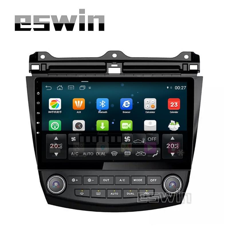 Android Car Player Autoradio PC GPS Navigator For <font><b>Honda</b></font> <font><b>Accord</b></font> 7 <font><b>2003</b></font> <font><b>2004</b></font> <font><b>2005</b></font> <font><b>2006</b></font> <font><b>2007</b></font> Support Bluetooth USB With Buttons
