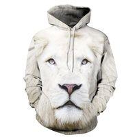 New Animals Print Fashion Brand Hoodies Men/Women 3d Sweatshirt Hooded Hoodies Cap And Pockets Hoody Tracksuits Plus S 6XL R438