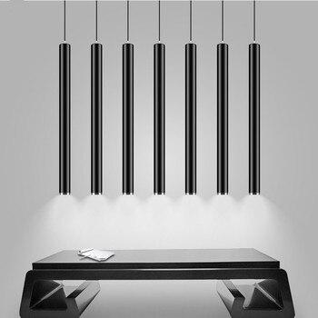 Modern LED Pendant Lights COB Pendant Lamp 3W Long Tube down light Island Bar Counte Shop Room Kitchen hanging lamp luminaire