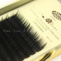 Hot Natural False Eyelashes Black Individual Eye Lashes Extension Fake Lashes 0 7 Volume C J