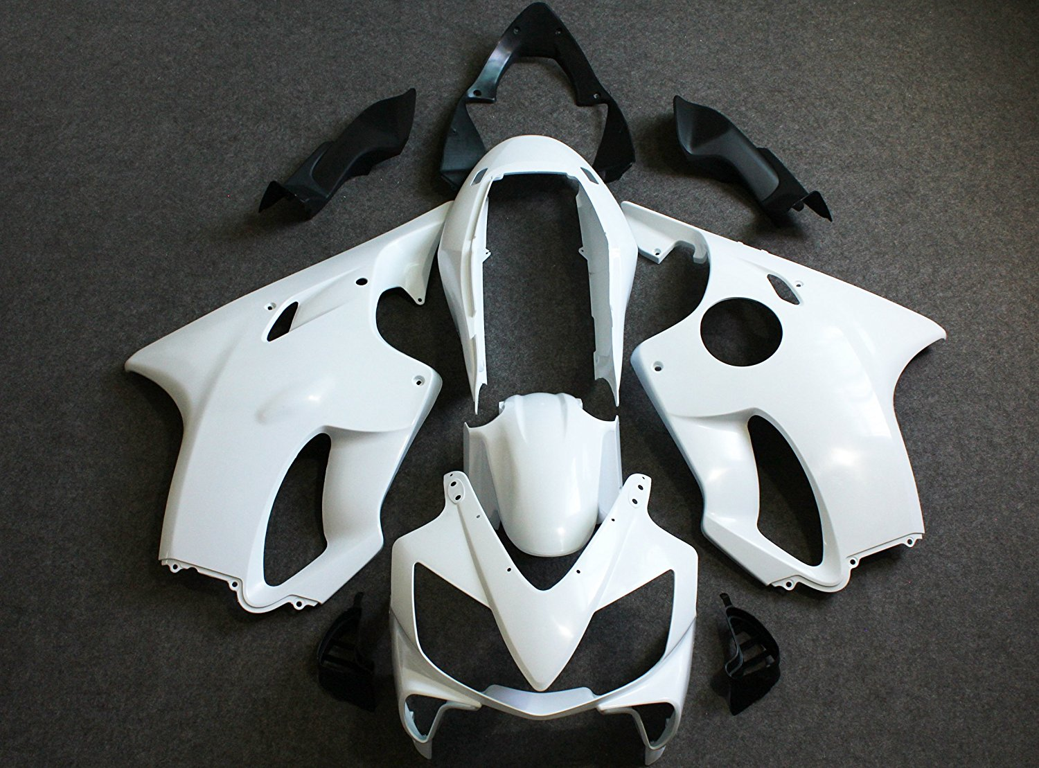 Motorcycle Injection Molding Unpainted Fairing Kit For Honda CBR 600 RR F4i  2004-2007 2005 2006 unpainted tail fairing kit rear for honda cbr600rr cbr 600 rr 2003 2004 cbr600 cbr 600rr 03 04 motorcycle frame injection mold