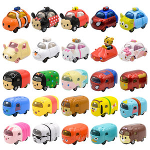 Tomica Car Mickey Snoopy Elsa Anna Minnie Stitch Winni Diecast Toys Metal Model Car(China)