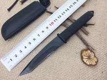 Small Outdoor Fixed Knife 5Cr15Mov Blade Hunting Knife Rescue Straight Knives Camping EDC Knife High Quality Cutting Tools