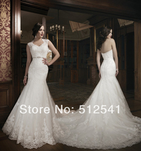 Best Selling Wedding Dresses With Wrap Mermaid Trumpet Sweetheart Applique Beads Lace Bridal Gowns yk8R954