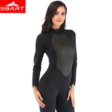 2019 Sbart New Professional One-piece Neoprene 3mm Diving Suit Winter Long Sleeve Woman Wetsuit Prevent Jellyfish Snorkeling