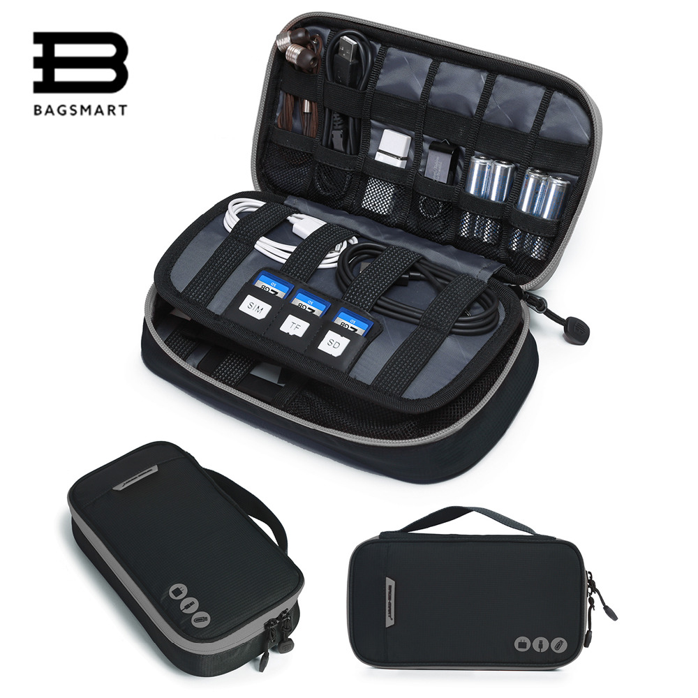 Electronic, Organizer, BAGSMART, Layer, Travel, Data