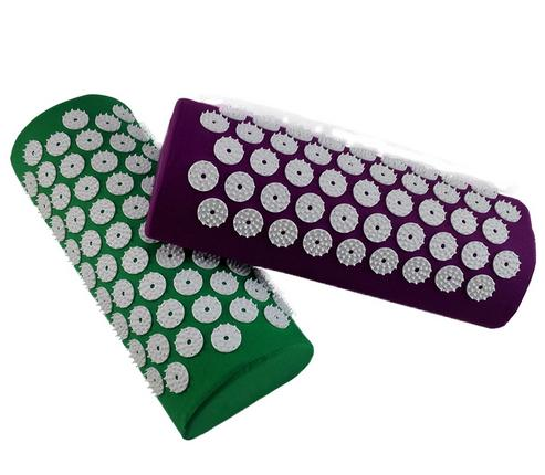 Yoga Acupressure Pillow Neck Acupuncture Massage Pillow Neck Head Body Stress Pain Relief Massager Cushion trek 7 5 fx wsd 2014