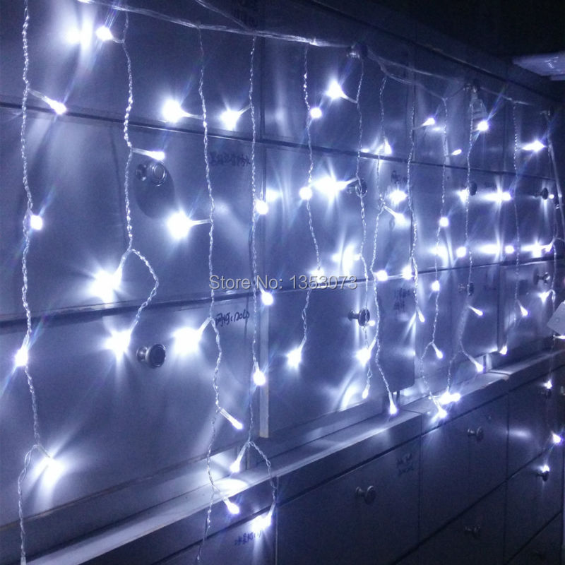buy 4 0 6m 96 led fairy string curtains. Black Bedroom Furniture Sets. Home Design Ideas