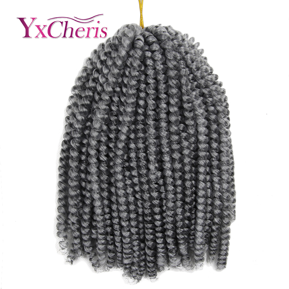 Curly Crochet Hair Braid Synthetic Ombre Braiding Hair Extensions