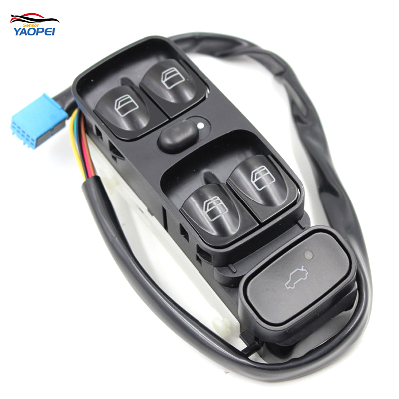YAOPEI OEM A2038200110 2038200110 2038210679 A203821067New Power Window Switch for MERCEDES W203 C CLASS C320 Front