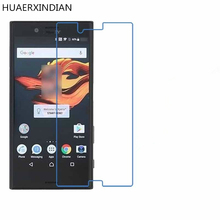 ФОТО huaerxindian 9h tempered glass for sony xperia x compact screen protector protective film 4.6