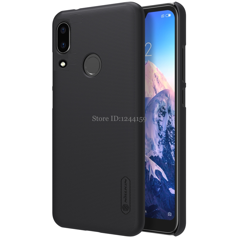 Nillkin Frosted Shield Cell Phone Case For Huawei Nova 3i Back Cover For Huawei P smart Plus Hard Matte Cases with gift mobile phone case