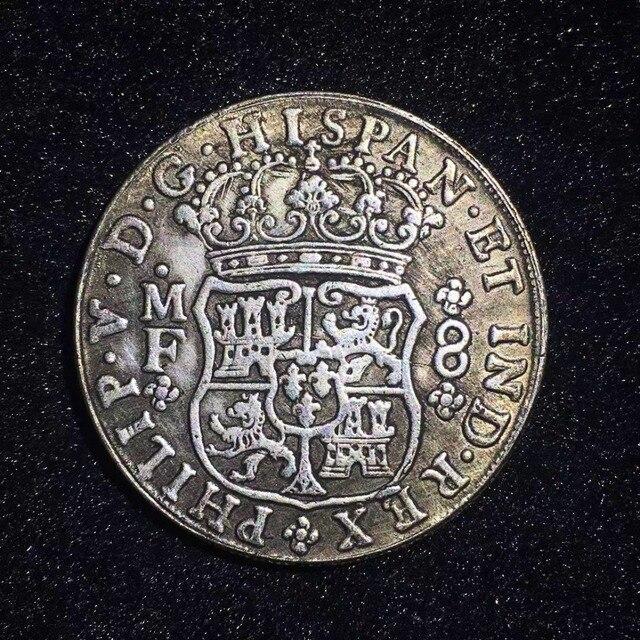 Monedas rusas antiguas, artesanía de regalo de Metal. Copia de monedas de rublo, imitación antigua decoración del partido del hogar réplica de moneda