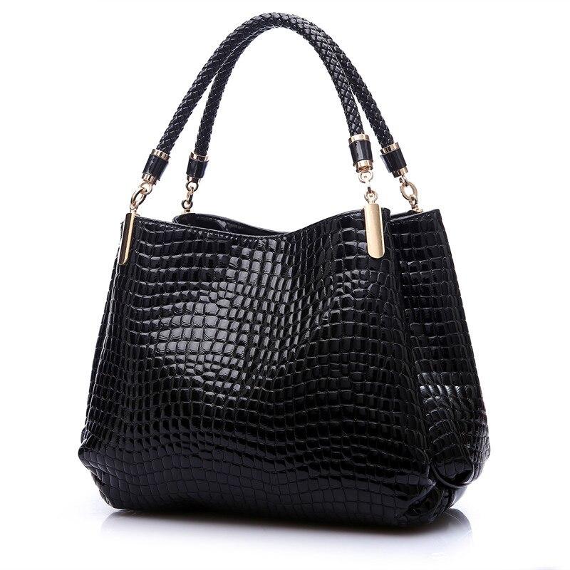 2017 Alligator Luxury Handbags Women Bags Designer Crocodile PU Leather Fashion Sequined Shoulder Bag Sac a