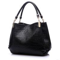 Korean Popular Leisure Shoulder Bag Embossed Crocodile Pattern Famous Designer Brand Women Leather Handbags Bolsas Femininas