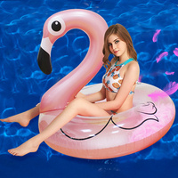 22 Style Giant Swan Watermelon Floats Pineapple Flamingo Swimming Ring Unicorn Inflatable Pool Float 1
