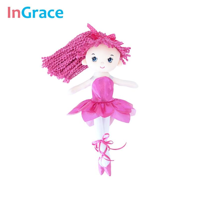 InGrace yeni gəlişi parıldayan balerina kuklaları 3 rəngli super - Kuklalar və kuklalar üçün aksesuarlar - Fotoqrafiya 2