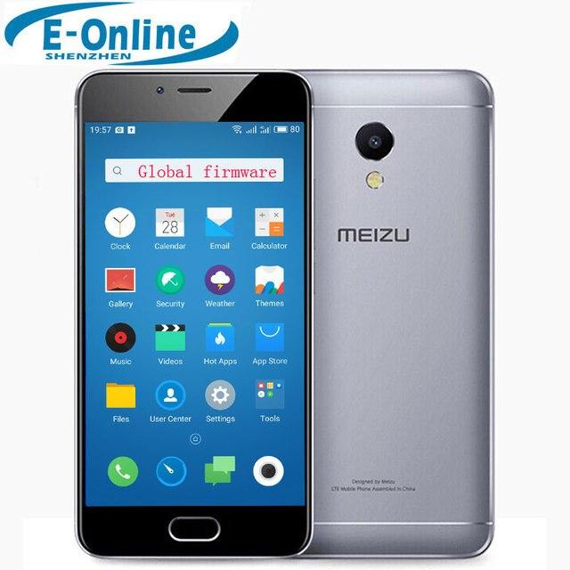 """В наличии Оригинал Meizu M5S 4 г LTE сотовый телефон MTK 6753 Octa core 2.5D стекло 5.2 """"сенсорный экран 3 ГБ оперативной памяти 16 ROM Быстрая зарядка"""