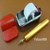 2pcs Leather Craft Table Top Pro Edge Dye Dyeing Roller Applicator Tool Kit Set