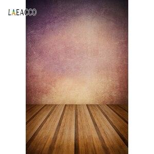 Image 3 - Laeacco Gradientสีไม้ชั้นGrungeภาพการถ่ายภาพฉากหลังBaby Showerพื้นหลังสำหรับPhoto Studio Props