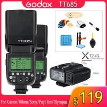 Godox TT685 TT685C TT685N TT685S TT685F TT685O 1/8000s TTL Flash Speedlite X1T Trigger for Canon Nikon Sony Fuji Olympus