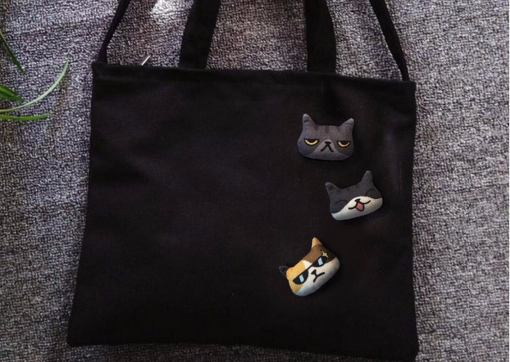 Timlee X096 Cartoon Cute Kitty Dog Pet Pet Soft Plush Metal Plush - Bizhuteri të modës - Foto 3