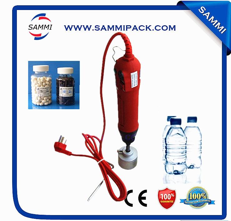 Handheld capping machine for water bottlr /medecine bottle handheld pet