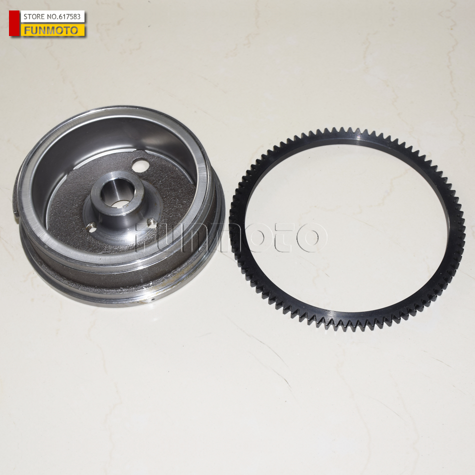 MAGNETO ROTOR AND GEAR ASSY SUIT FOR  KAZUMA 500 ATV/500 QUAD toro t5 series gear driven shrub rotor