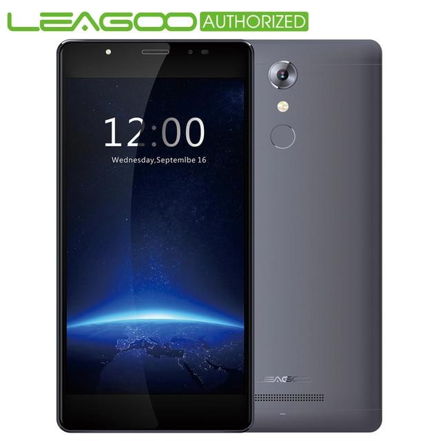 Leagoo M5 Android 6.0 2.5D Arc 5.0 inch 3G Smartphone MTK6580 1.3GHz Quad Core 2GB RAM 16GB ROM Finggerprint Mobile Cell Phone