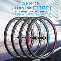 UCI APPROVED Rolling Stone 40Aero High TG Carbon Road Wheelset 700c 40mm Clincher With Swisstop Black