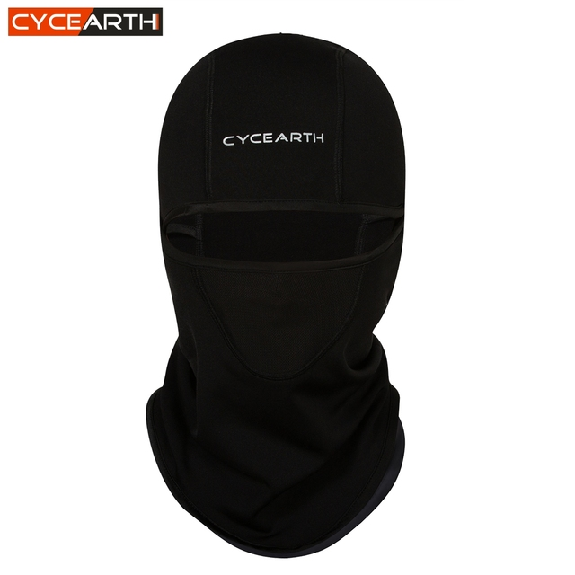 CYCEARTH 2018 Warm Winter Ski Hat Bicycle Face Mask Cap Thermal Fleece Cycling Motorcycle Sports Snowboard Bike Face Mask Scarf