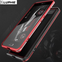 For Xiaomi Mi5s Mi5 Phone Case Original LUPHIE Aluminum Metal Frame Case Dual Color Bumper Cover