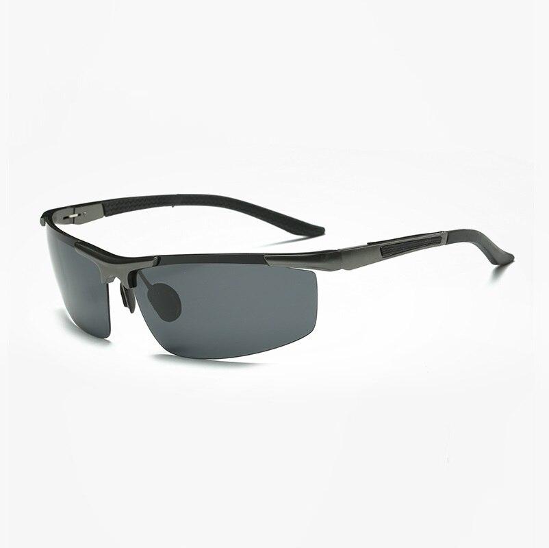 width-152 new Aluminum-magnesium semi-frame polarized sunglasses mens fashion pilot sunglasses tide people driving glasses male