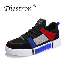 Thestron 2018 Best selling Spring Autumn Men Casual&Sneaker Shoes Brand Comfortable Popular Mens Loafers Slip-On Skate
