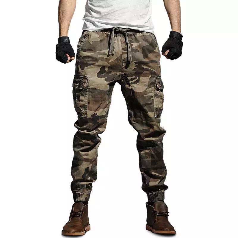 Tactical Camo Pants Men Mens Military Cargo Pants Men's Army Camouflage Trousers Militari Baggy Pants Winter Warm Trousers.FA21