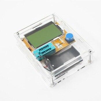 2016 Dernière LCR-T4 ESR Mètre Transistor Testeur de Diodes Triode Capacité Mos Mega328 Transistor Testeur + CAS (pas La Batterie)