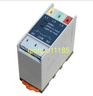 New Phase Failure Phase Sequence Protect Relay TL2238 vj5 lcd display phase failure sequence unbalance protective relay 3 phase and voltage relay