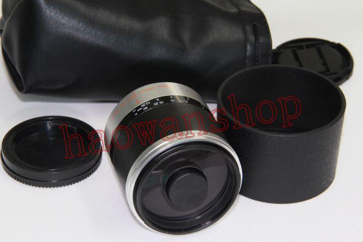 Зеркальный телеобъектив 300 мм f6.3 f/6,3 для sony e mount NEX3/5/7 a6300 a6500 a6000 a5100 a5000 a7r a9 rx100