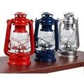Iron Candlestick Candle Holder Kerosene lamps Portable lantern Novelty Lighting Holiday gift Home decoration