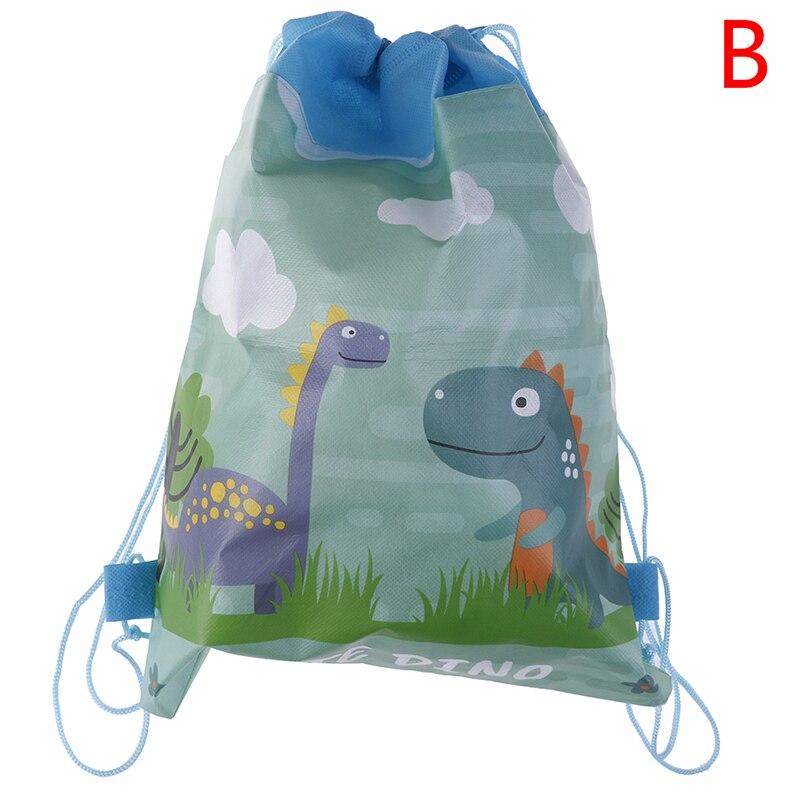 Подарки на день рождения, подарки на завязках для мальчиков, милые сумки с героями мультфильмов, мотив динозавра, украшенные нетканым материалом, детский душ - Цвет: design 2