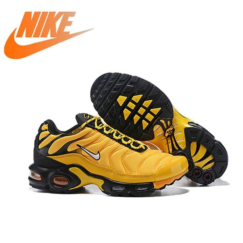 Officiel authentique Nike Air Max Plus chaussures de course pour hommes Original en plein Air respirant confortable chaussures de sport antichoc Jogging