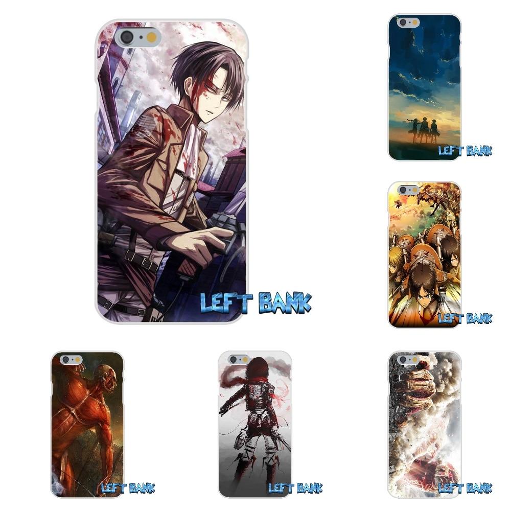 For Xiaomi Redmi 3 3S Pro Mi3 Mi4 Mi4C Mi5S Note 2 4 Anime Attack on Titan Scouting Soft Silicone TPU Transparent Cover Case