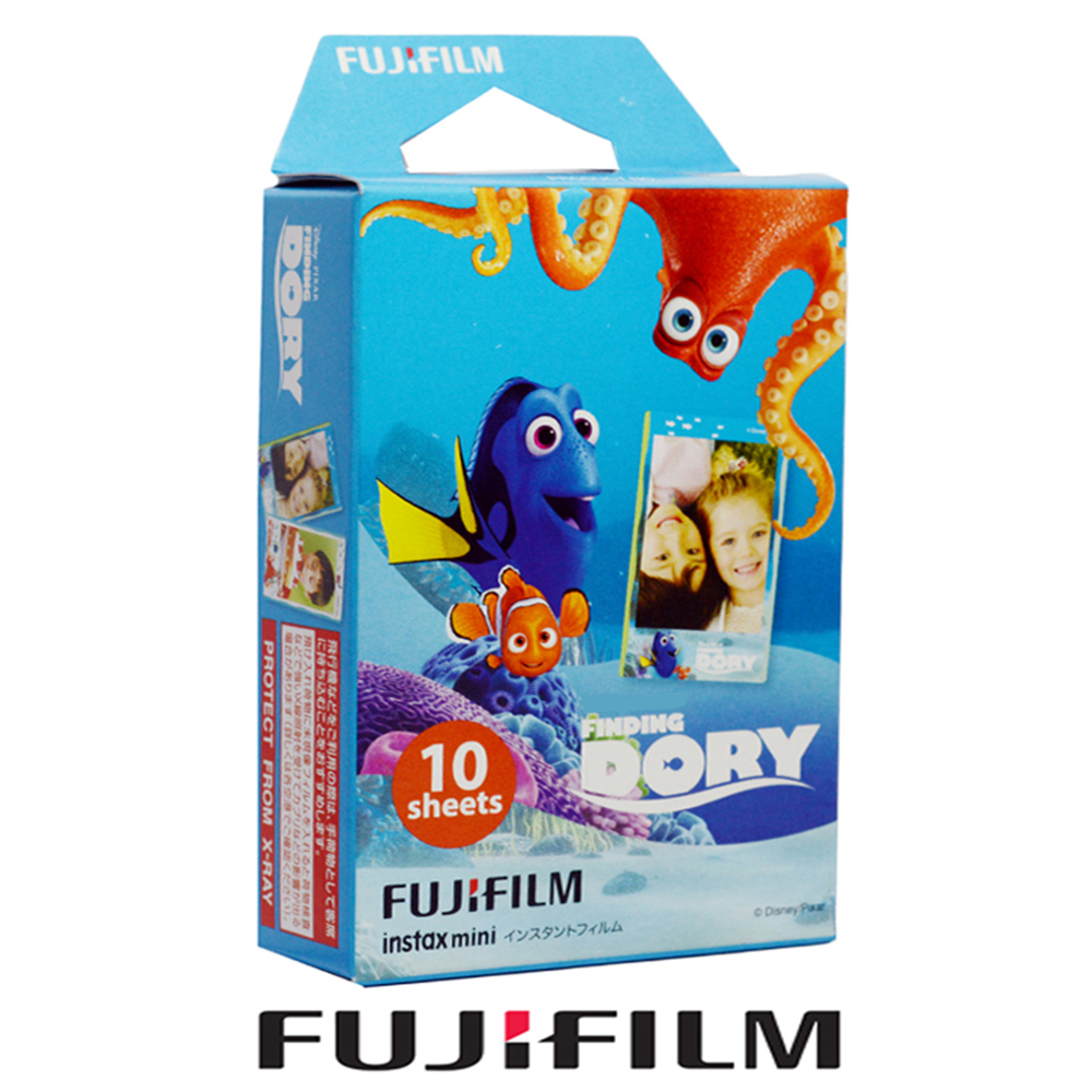 fujifilm fuji instax mini 8 film finding dory 10 papers. Black Bedroom Furniture Sets. Home Design Ideas