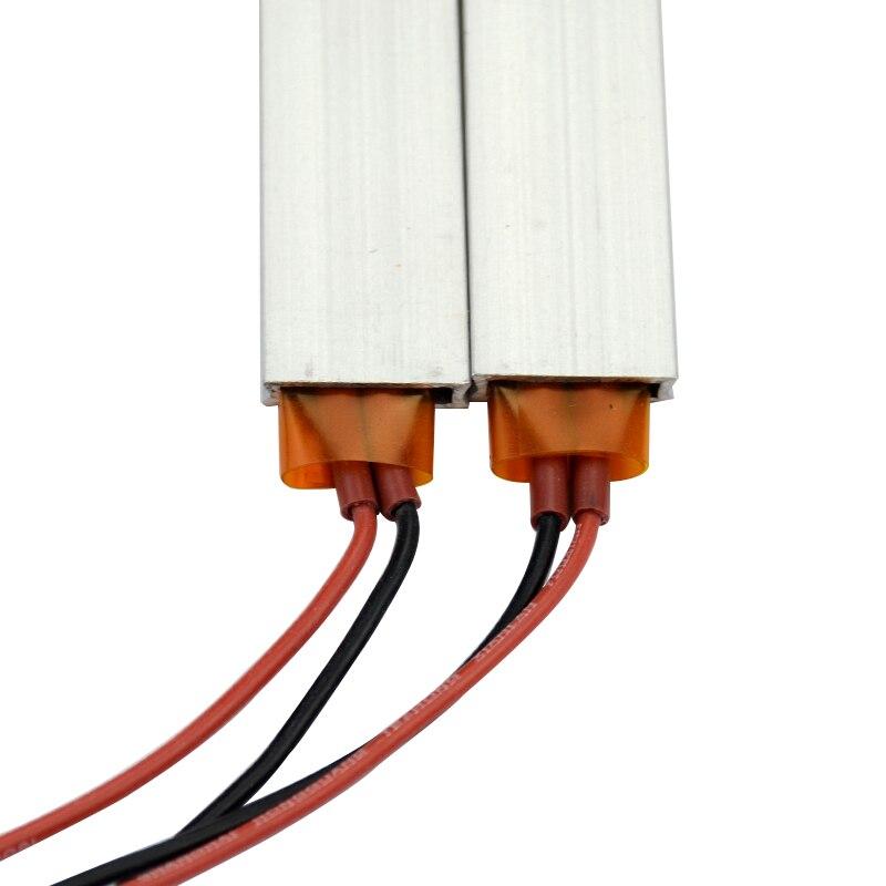 AIYIMA 2pcs Heater 100*21*5mm 220V High power PTC Thermostat