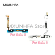 Home Menu Button Flex Cable Ribbon For Samsung Galaxy Note 2 3 N7100 N900 N9005 Replacement Parts(China)