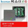 DIY P10 Leeman Полноцветный P16 RGB Наружных СВЕТОДИОДНЫХ Рекламы Панель Экран p10-1r наружная светодиодный дисплей модуль матричный RGB