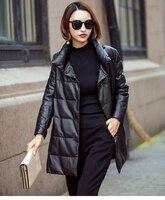 Genuine Leather Jacket Winter Jacket Women Clothes 2019 korean Duck Down Jacket Women Real Sheepskin Coat Chaqueta Mujer MY3371