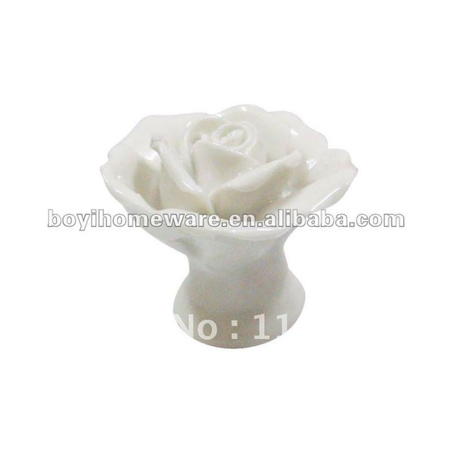 white ceramic knobs handmade furniture knobs for kids wholesale and retail shipping discount 200pcs/lot MG-13